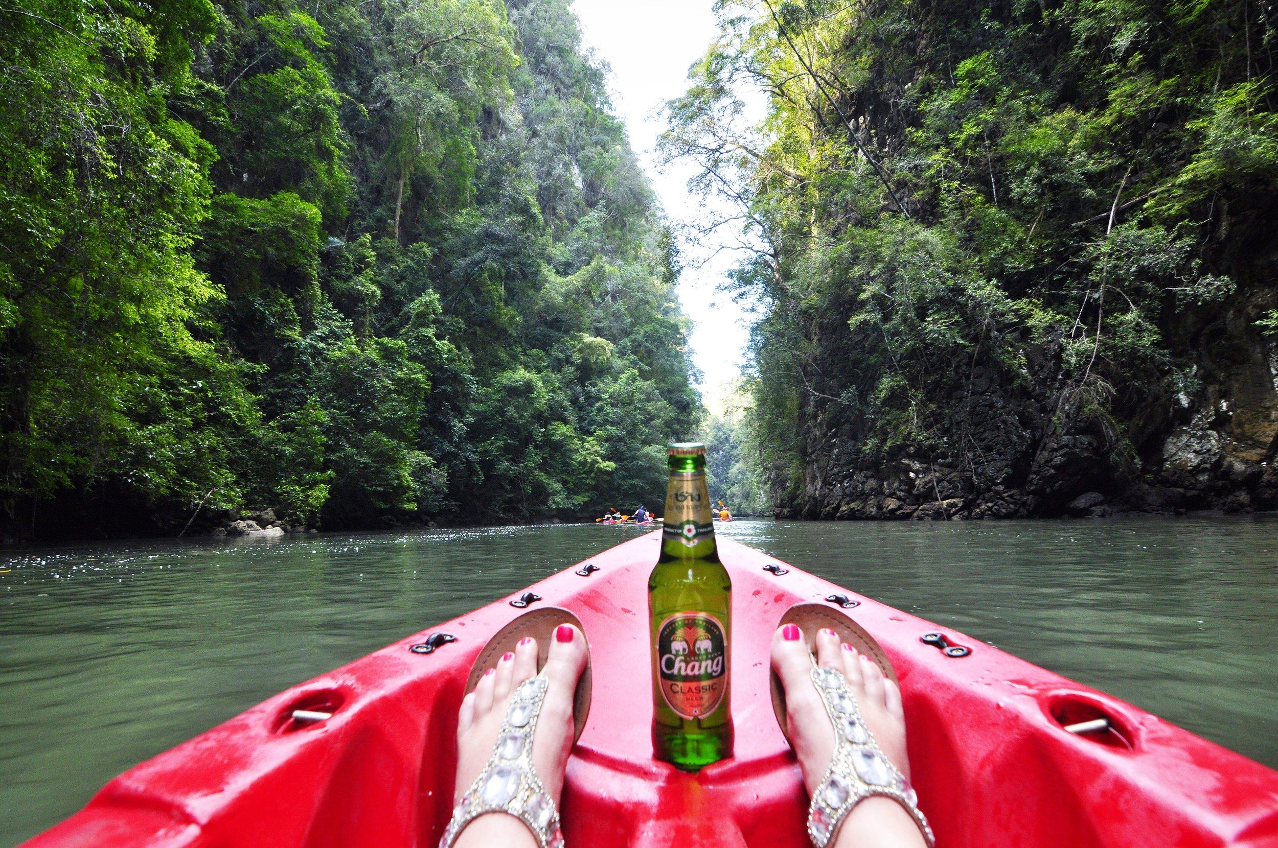 What to do in Krabi, Thailand | Kayaking | coupleinthekitchen.com