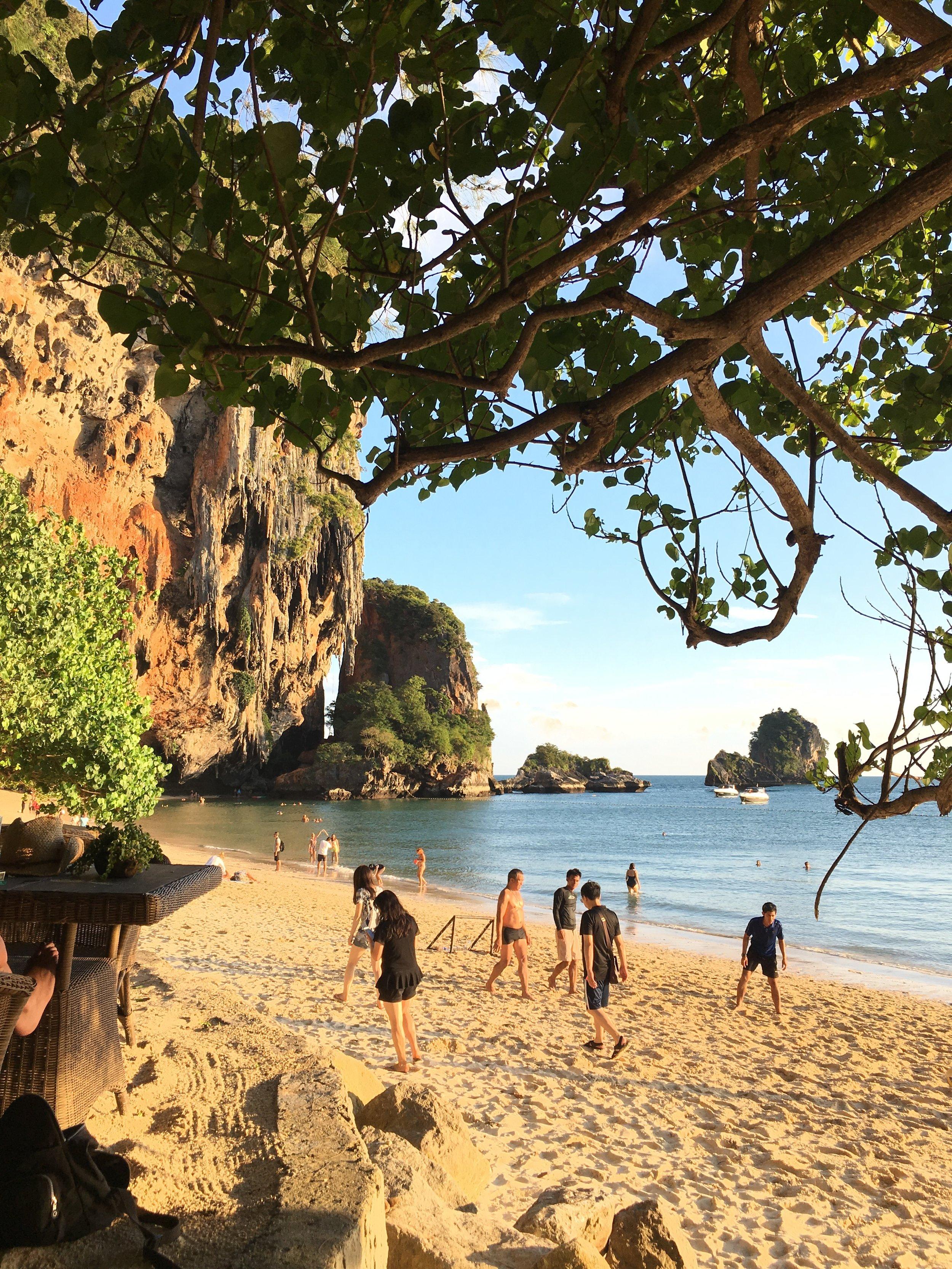 What to do in Krabi, Thailand | Railay Beach | coupleinthekitchen.com