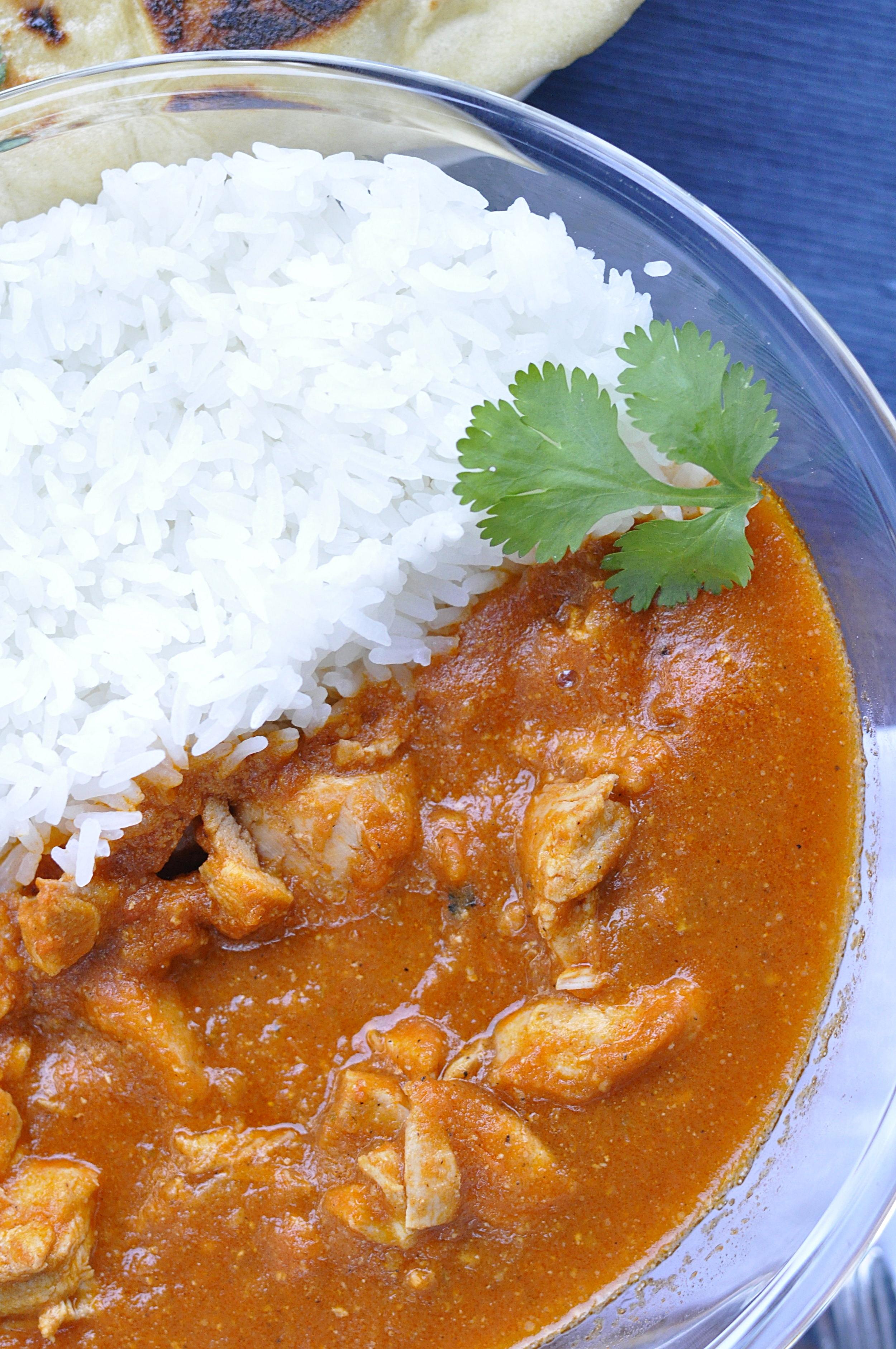 Healthier Chicken Tikka Masala | Indian Recipe | coupleinthekitchen.com