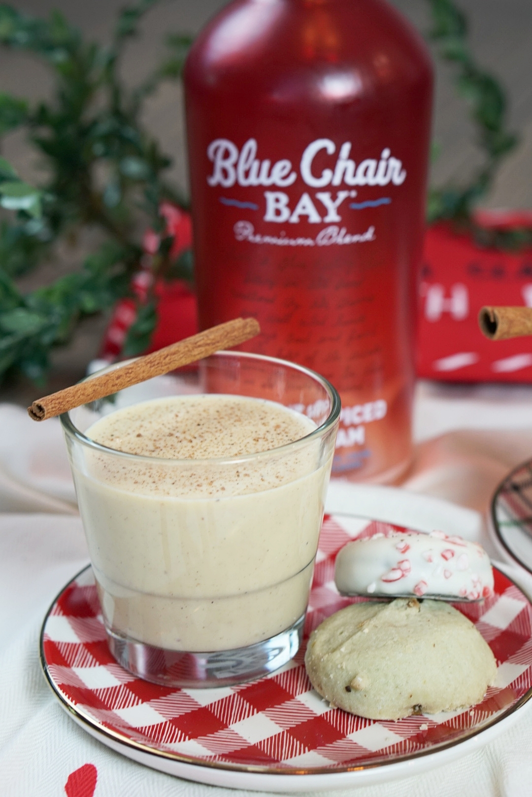Homemade Eggnog with Coconut Cream | coupleinthekitchen.com