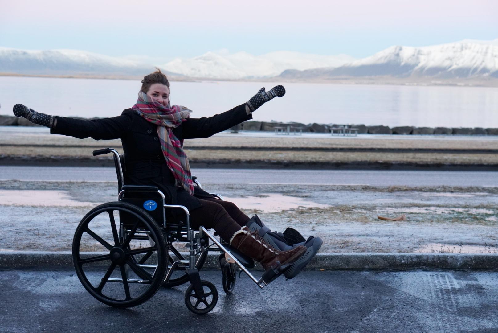 Iceland in a Wheelchair | coupleinthekitchen.com