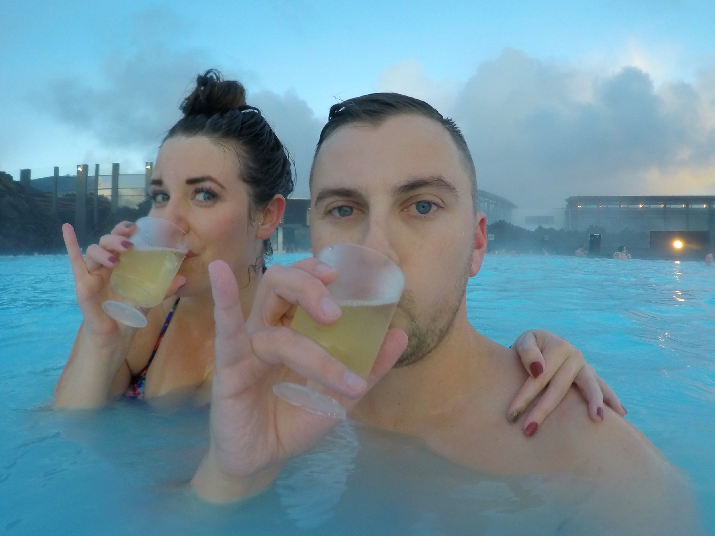 The Blue Lagoon in Iceland | coupleinthekitchen.com