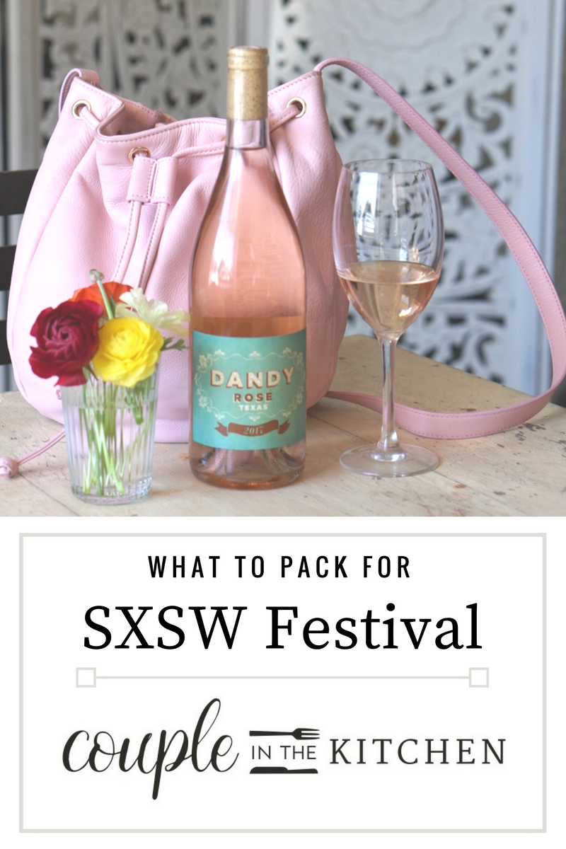 What to pack for SXSW | coupleinthekitchen.com