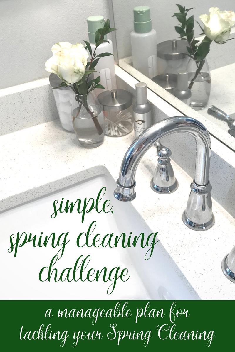 Easy Spring Cleaning Plan | coupleinthekitchen.com