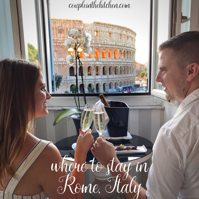 Where to Stay in Rome, Italy | coupleinthekitchen.com