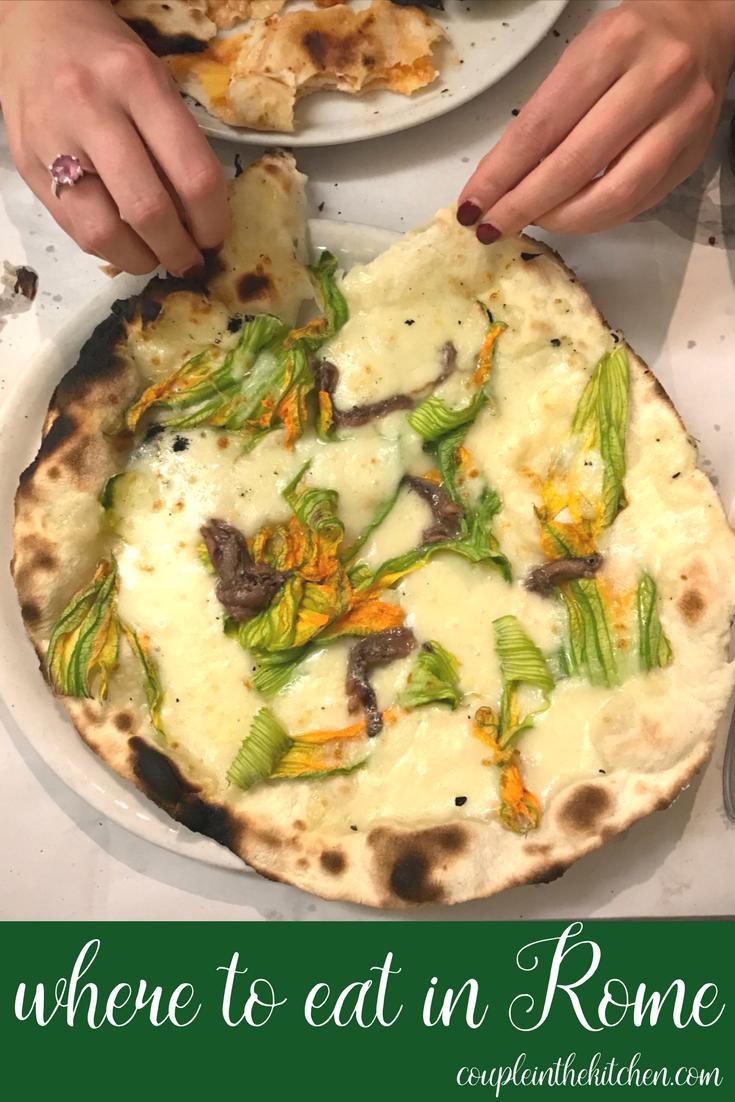 Best Restaurants in Rome, Italy | coupleinthekitchen.com