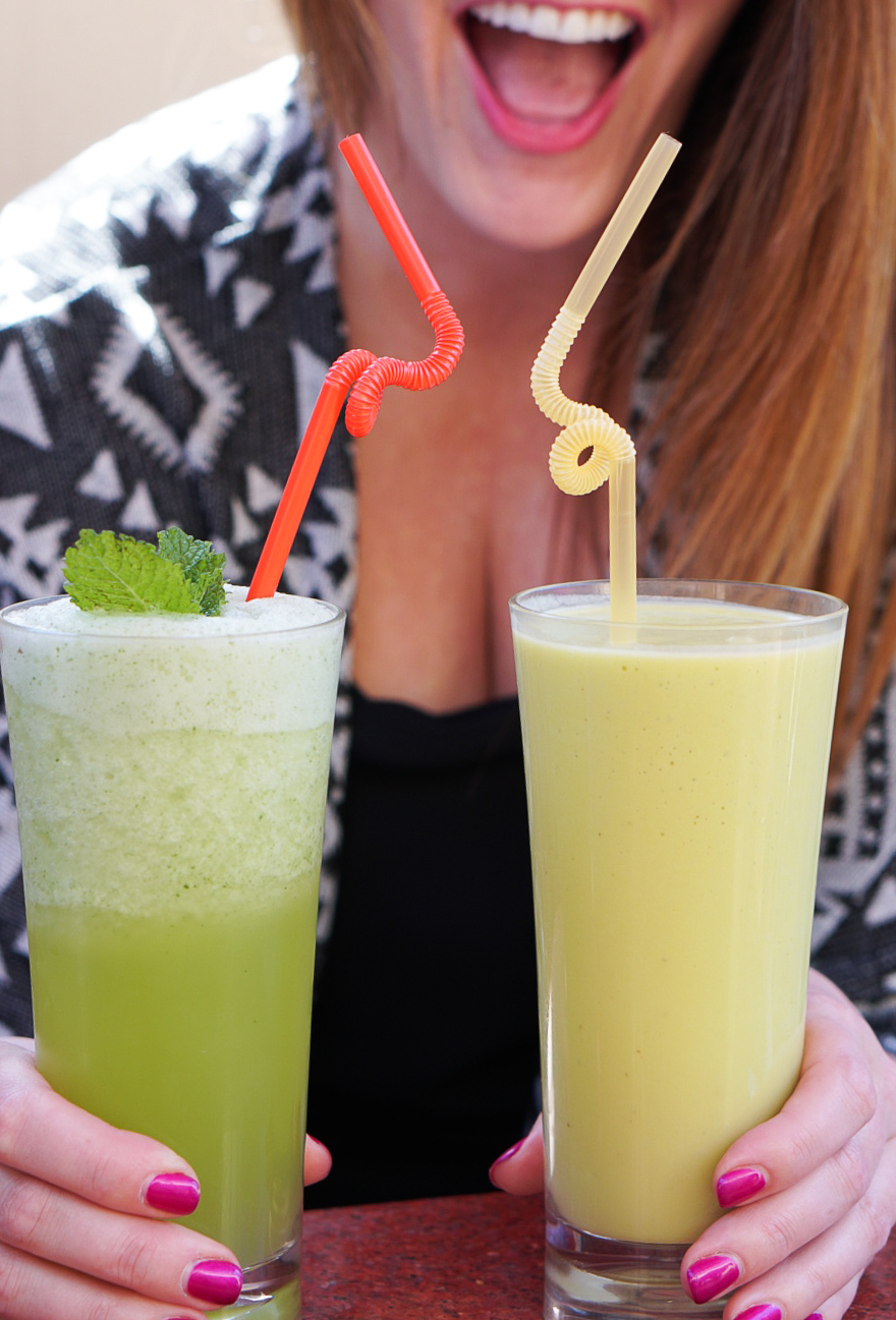 Mint Lemonade from Morocco | coupleinthekitchen.com