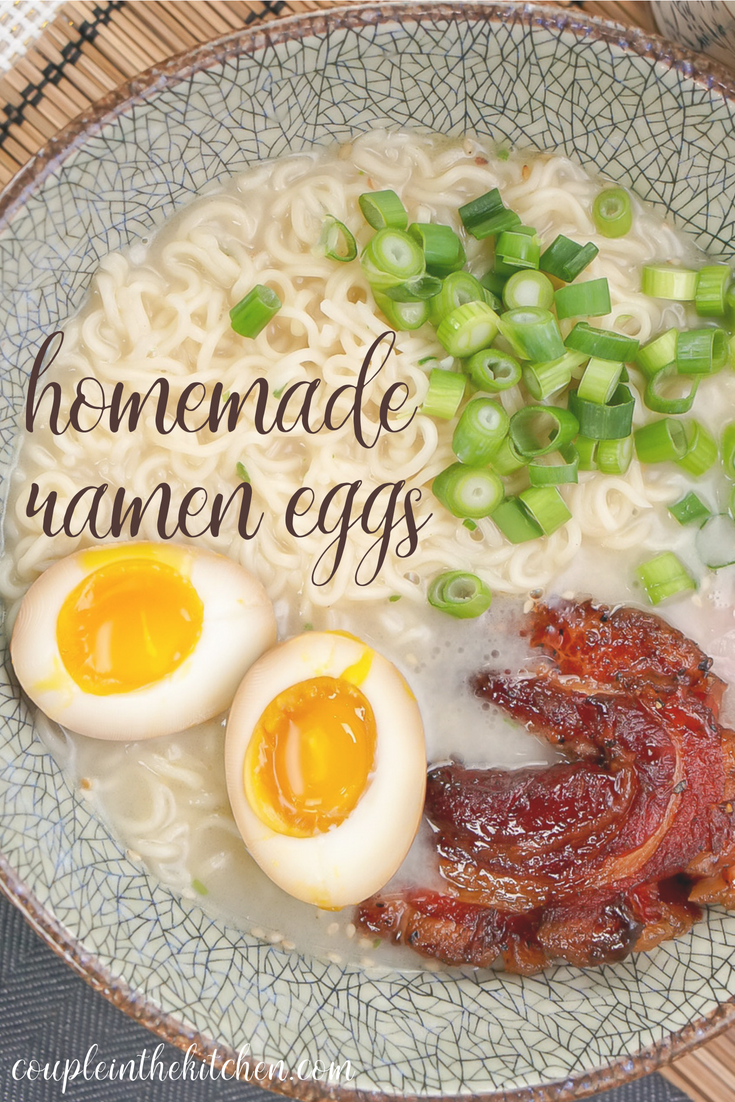 Marinaded Ramen Egg Recipe | coupleinthekitchen.com