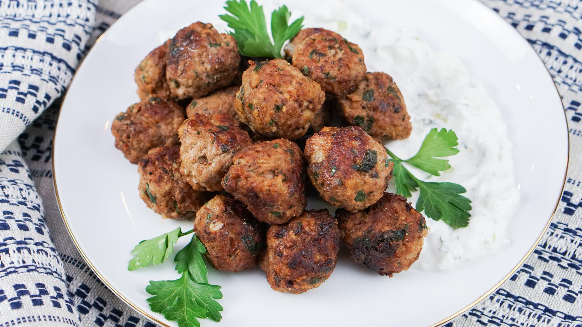 Lamb Meatballs | coupleinthekitchen.com