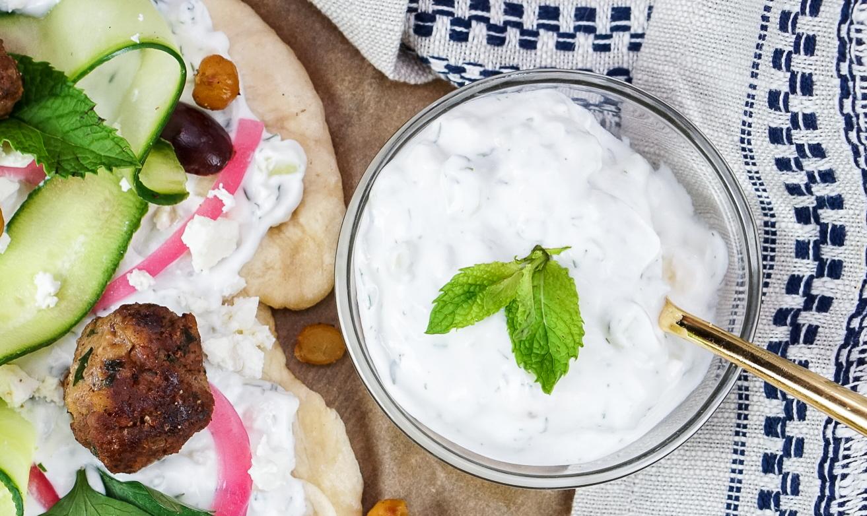 Homemade Tzatziki Sauce Recipe | coupleinthekitchen.com