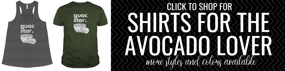Guacamole Shirts for Sale
