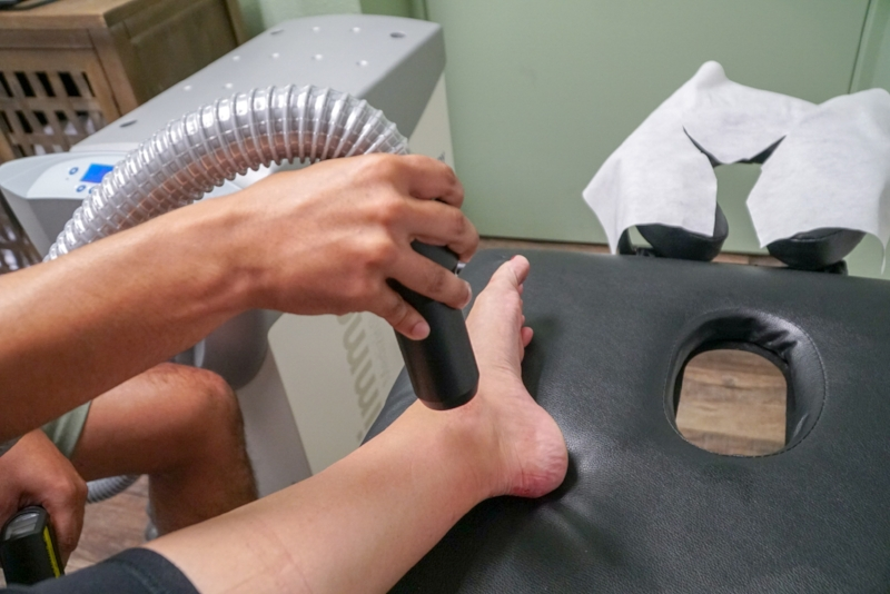 Post-Injury Recovery with Local Cryotherapy