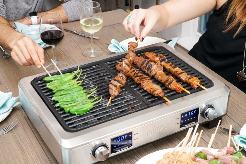 Yakitori Grill Recipes - Hosting the Perfect Dinner Party | coupleinthekitchen.com