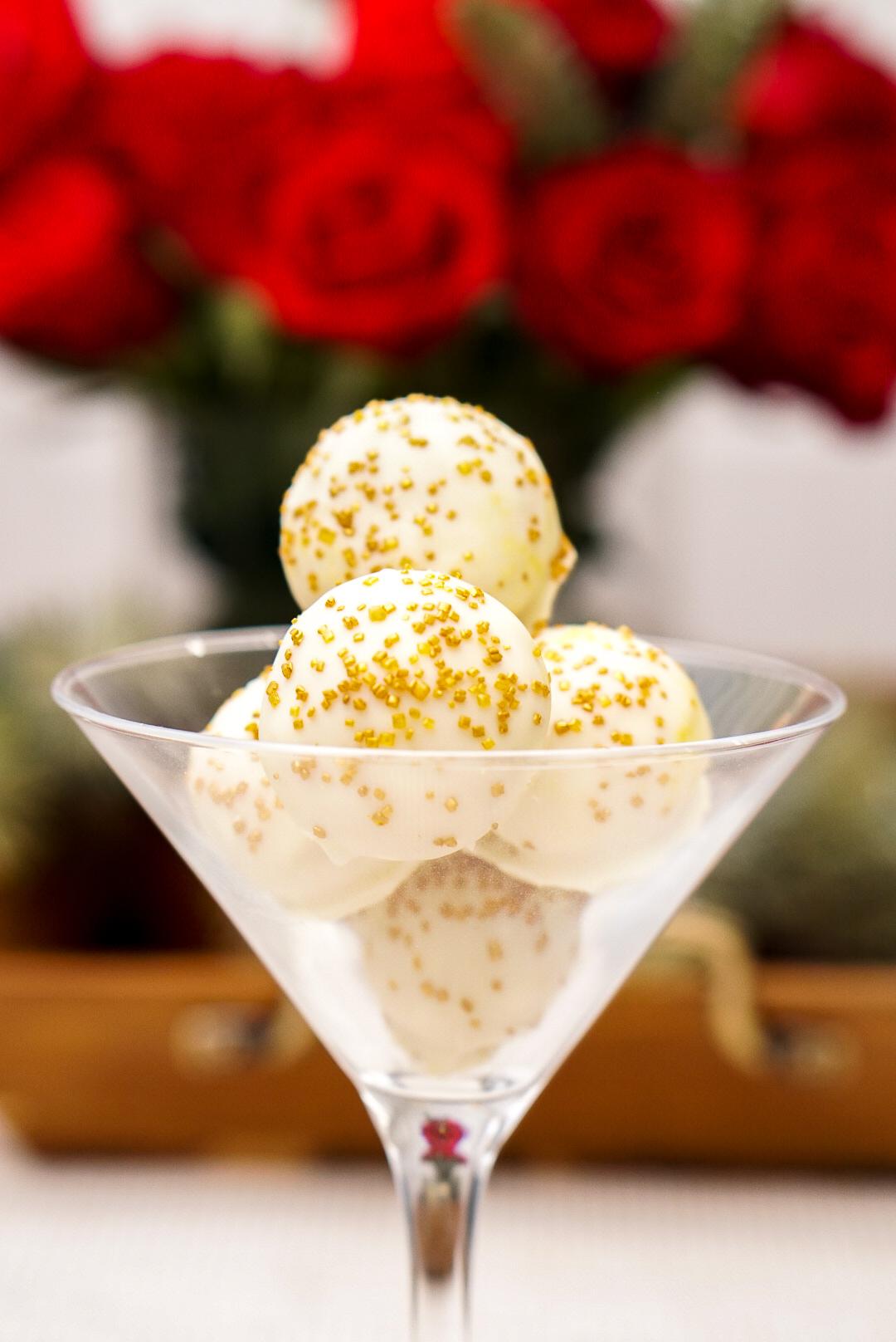 Boozy Horchata White Chocolate Truffle Recipe | coupleinthekitchen.com