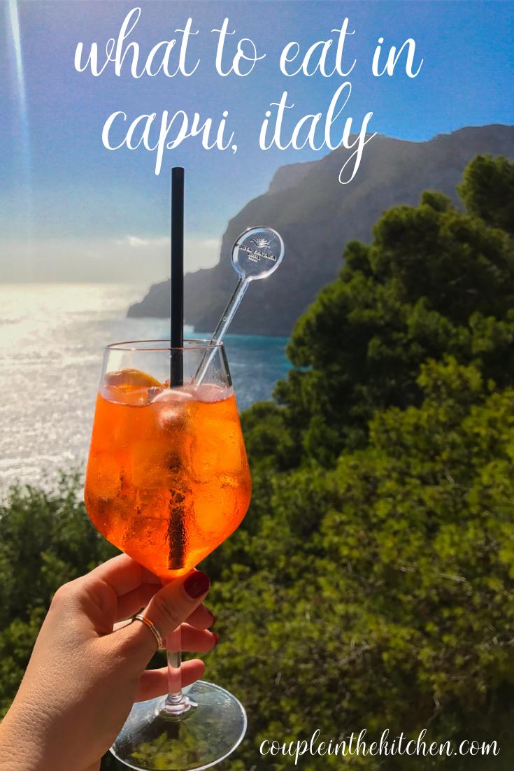 What to Eat in Capri Italy | coupleinthekitchen.com