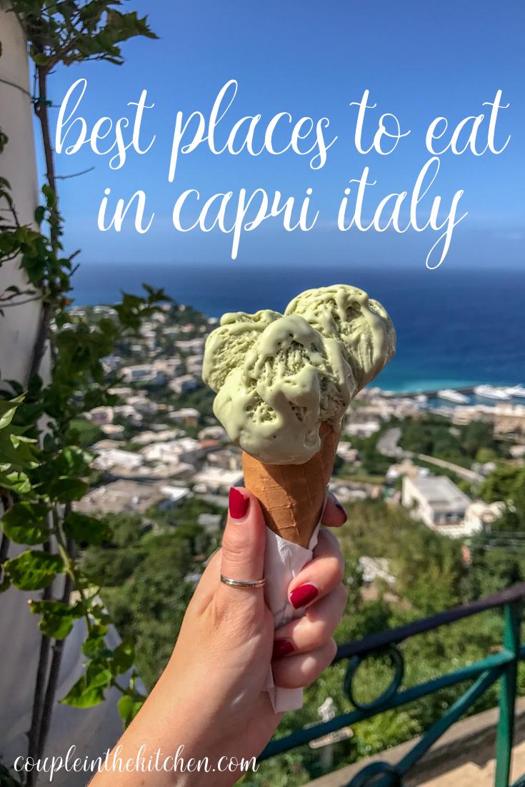 Best Places to Eat in Capri Italy | coupleinthekitchen.com