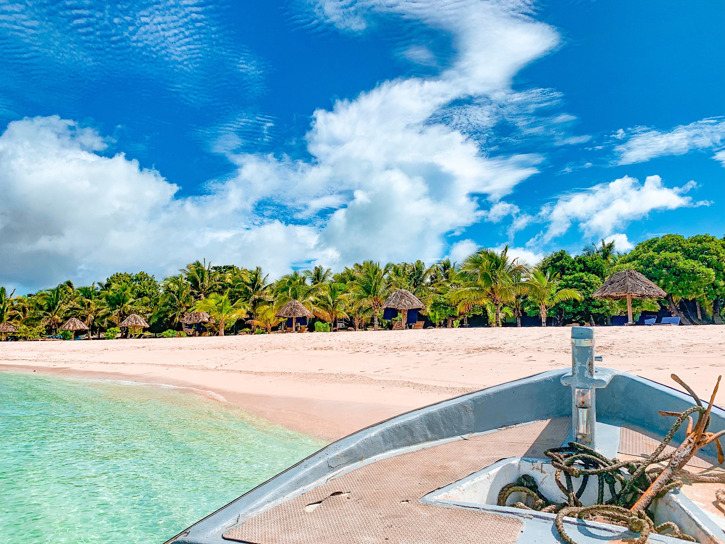 Staying on a Private Island in Romantic Fiji | Honeymoon Ideas | www.coupleinthekitchen.com