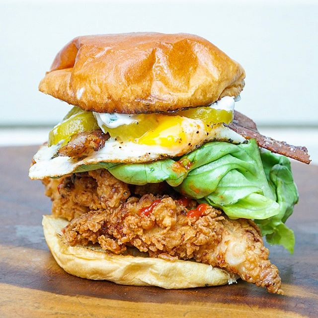 Cluck Yeah! 🐔 @gobblegobble_atx's sandwiches always have us drooling!