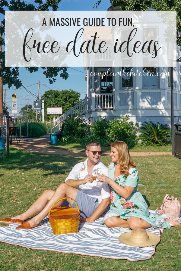 A Massive List of Fun, Free Date Ideas | www.coupleinthekitchen.com