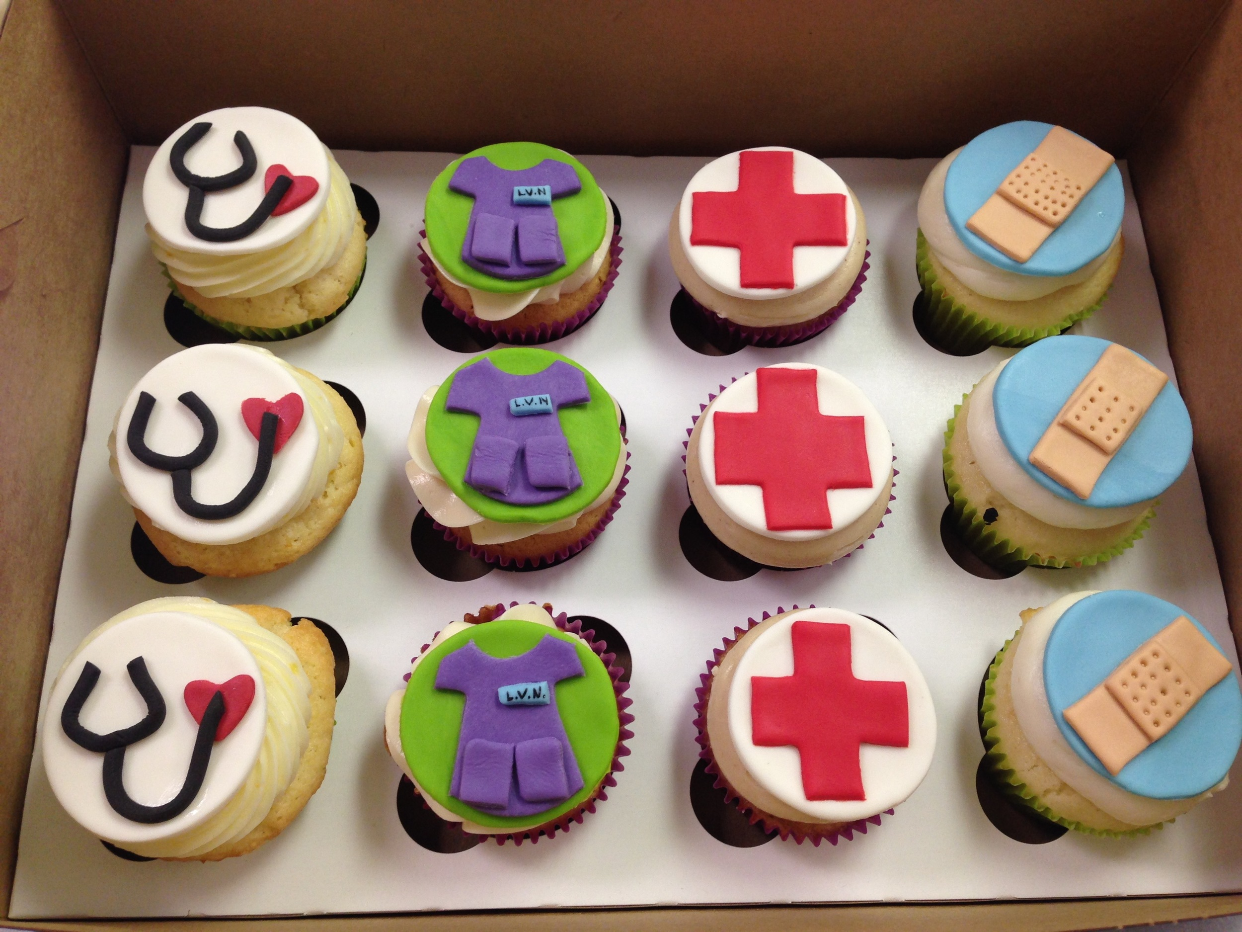 Medical Cupcakes | Sugar Lab Bake Shop