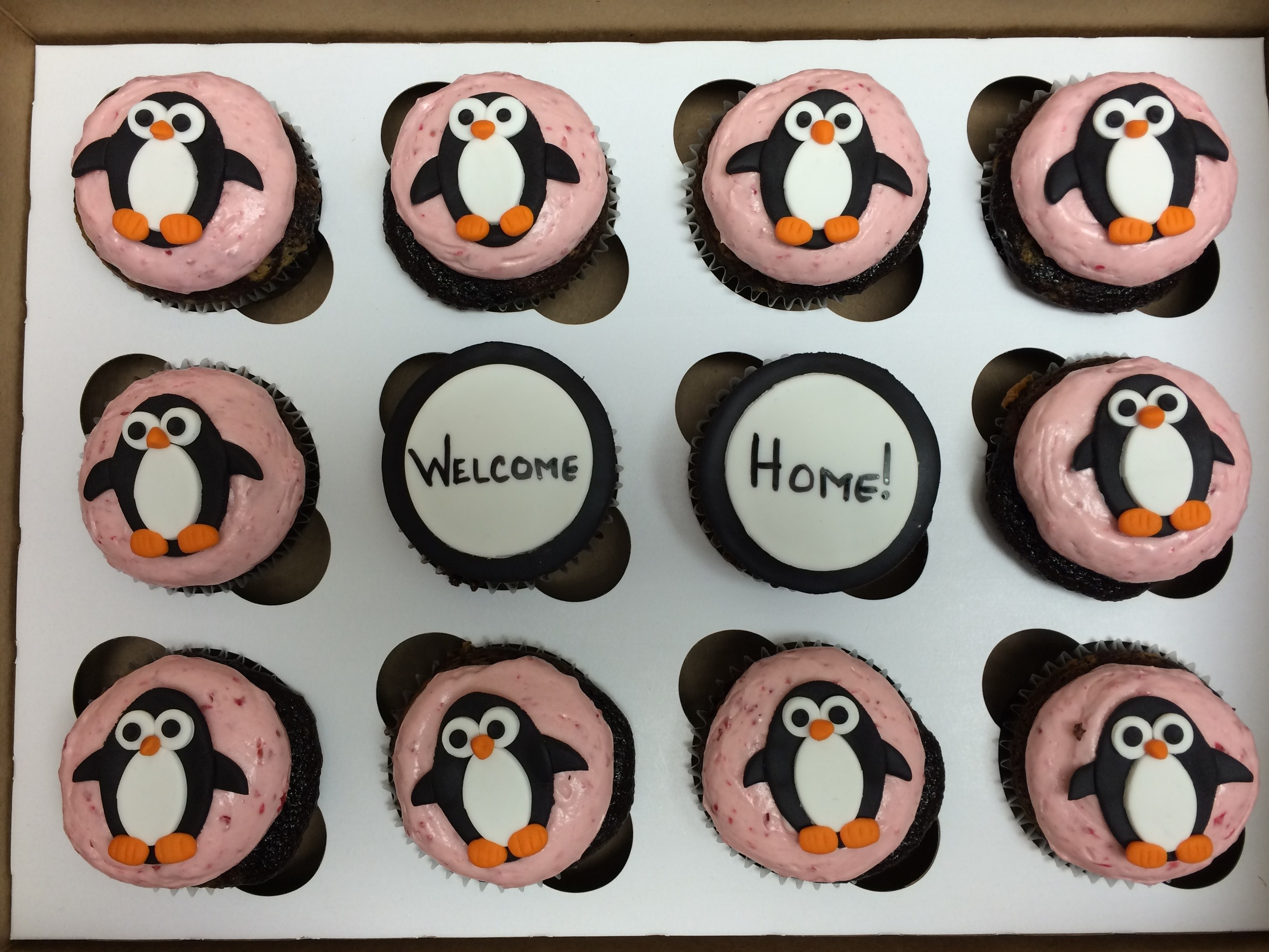 Penguin Cupcakes | Sugar Lab Bake Shop