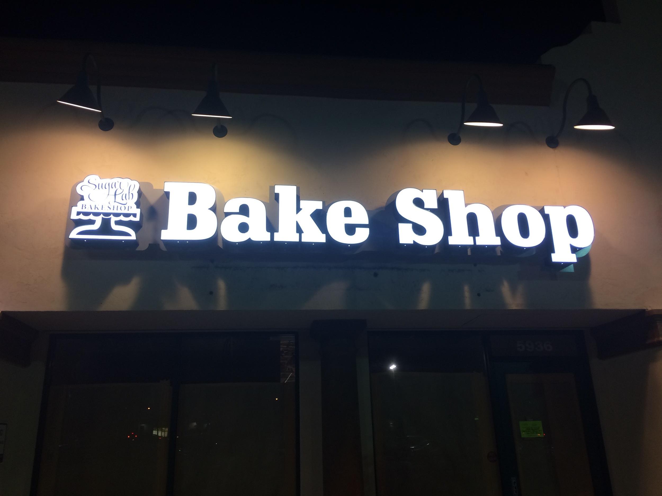 New Sign at Night!