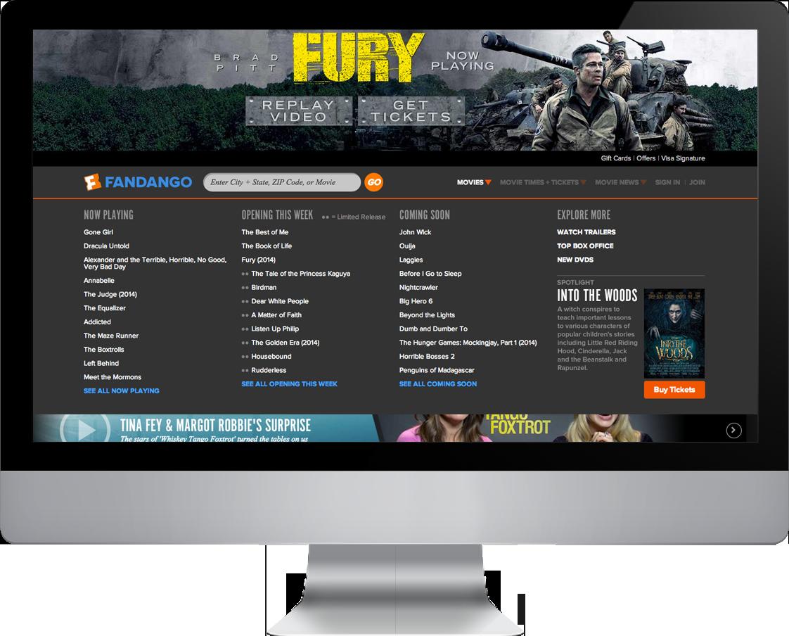 Native Ad : Homepage Nav Movies Dropdown
