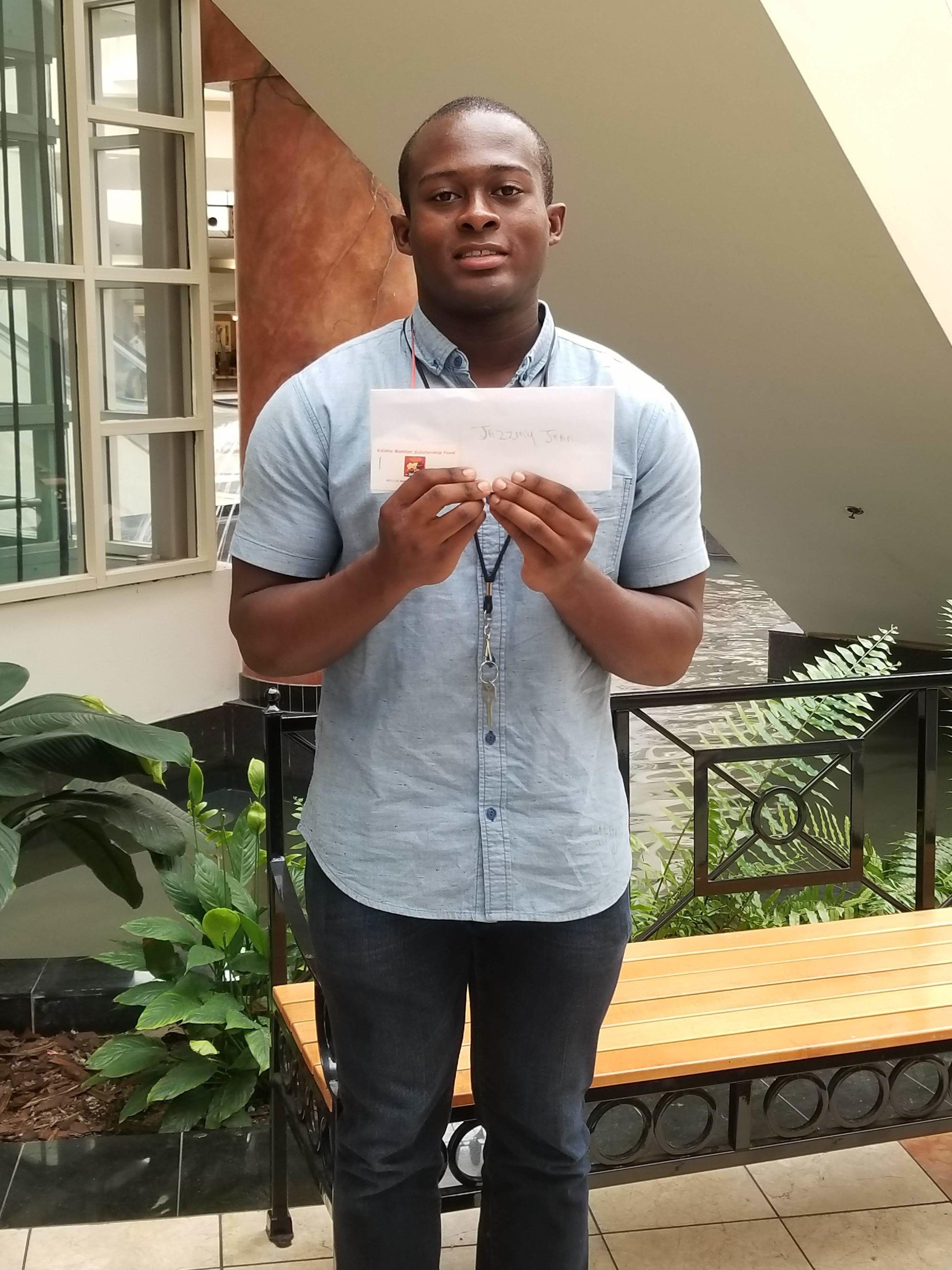 2018 Keisha Bodden Scholarship Recipient