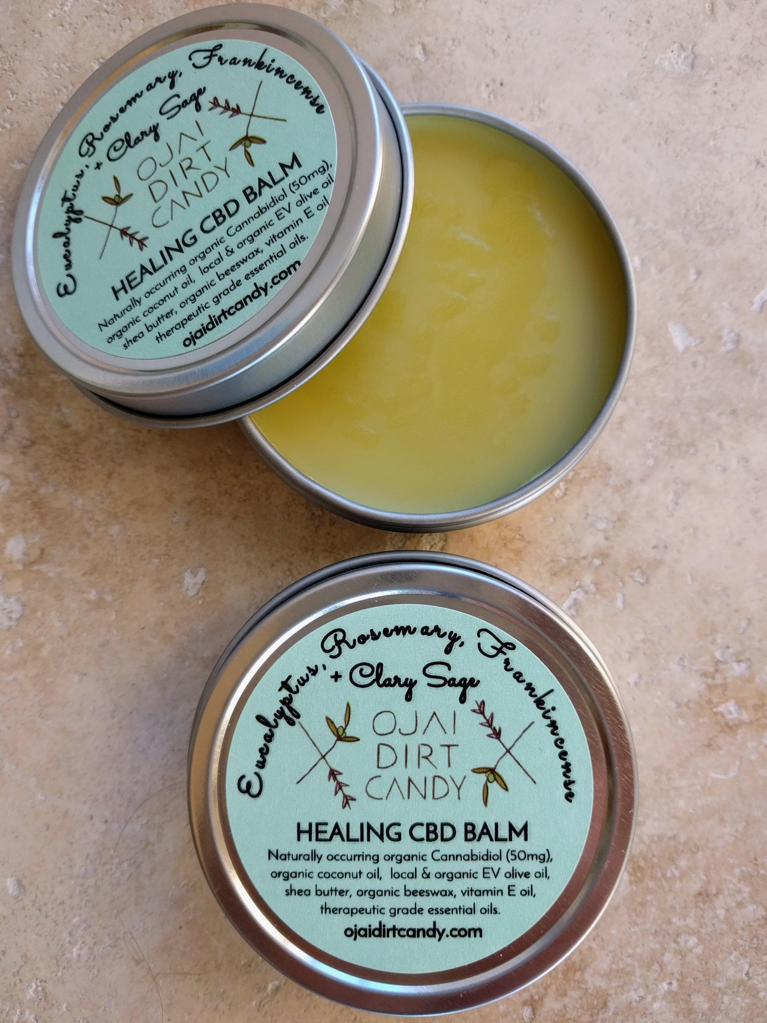 Ojai Dirt Candy Healing CBD Balm