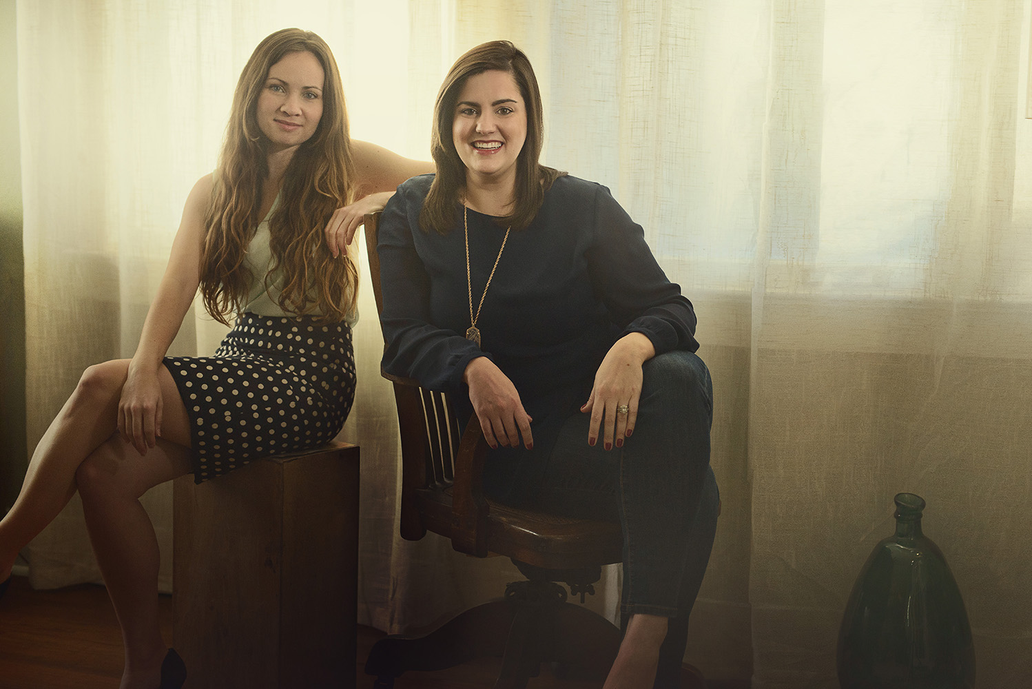 Owners Kelly Davis Leff and Tessa Rowe