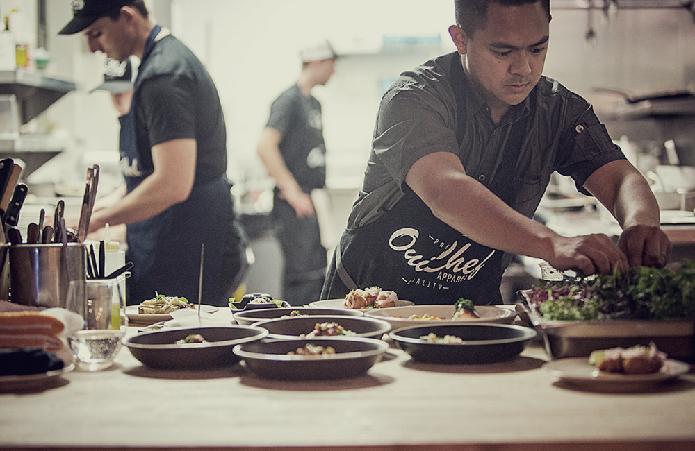 Owner/Founder Chef Ross Pangilinan :: Mix Mix Kitchen Bar in Santa Ana, Ca.