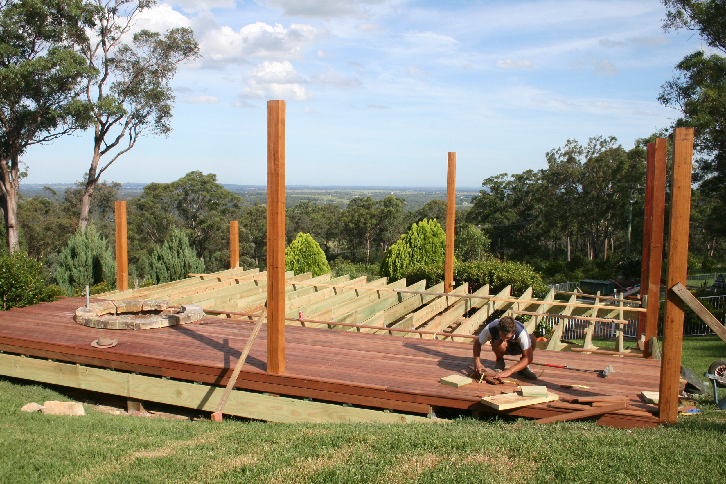 Architectural deck in Sydney area