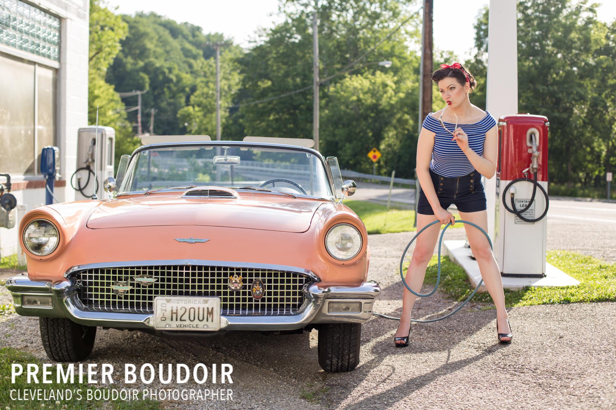 Cleveland + Akron Pinup Boudoir Vintage Retro Photographer