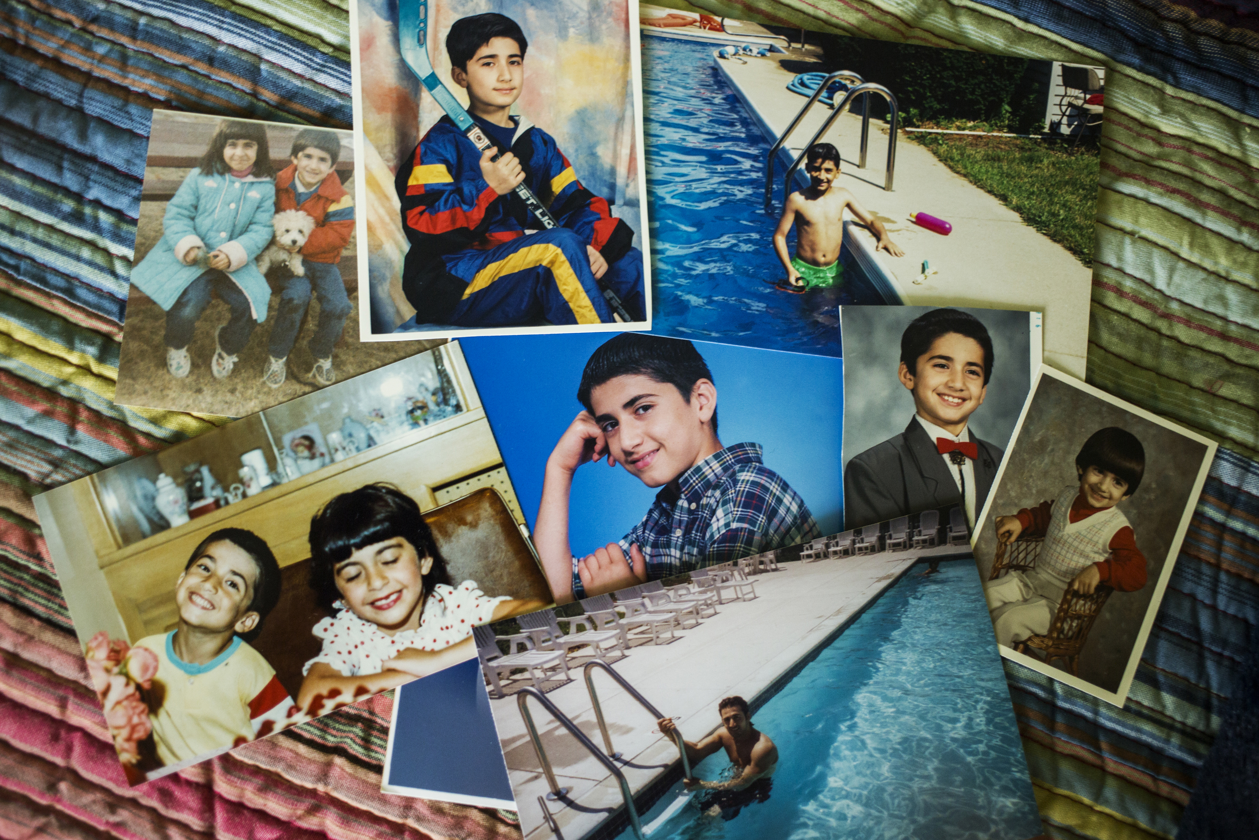 Photos from Amir's childhood show the happy, peaceful person Amir's family and friends know him to be.