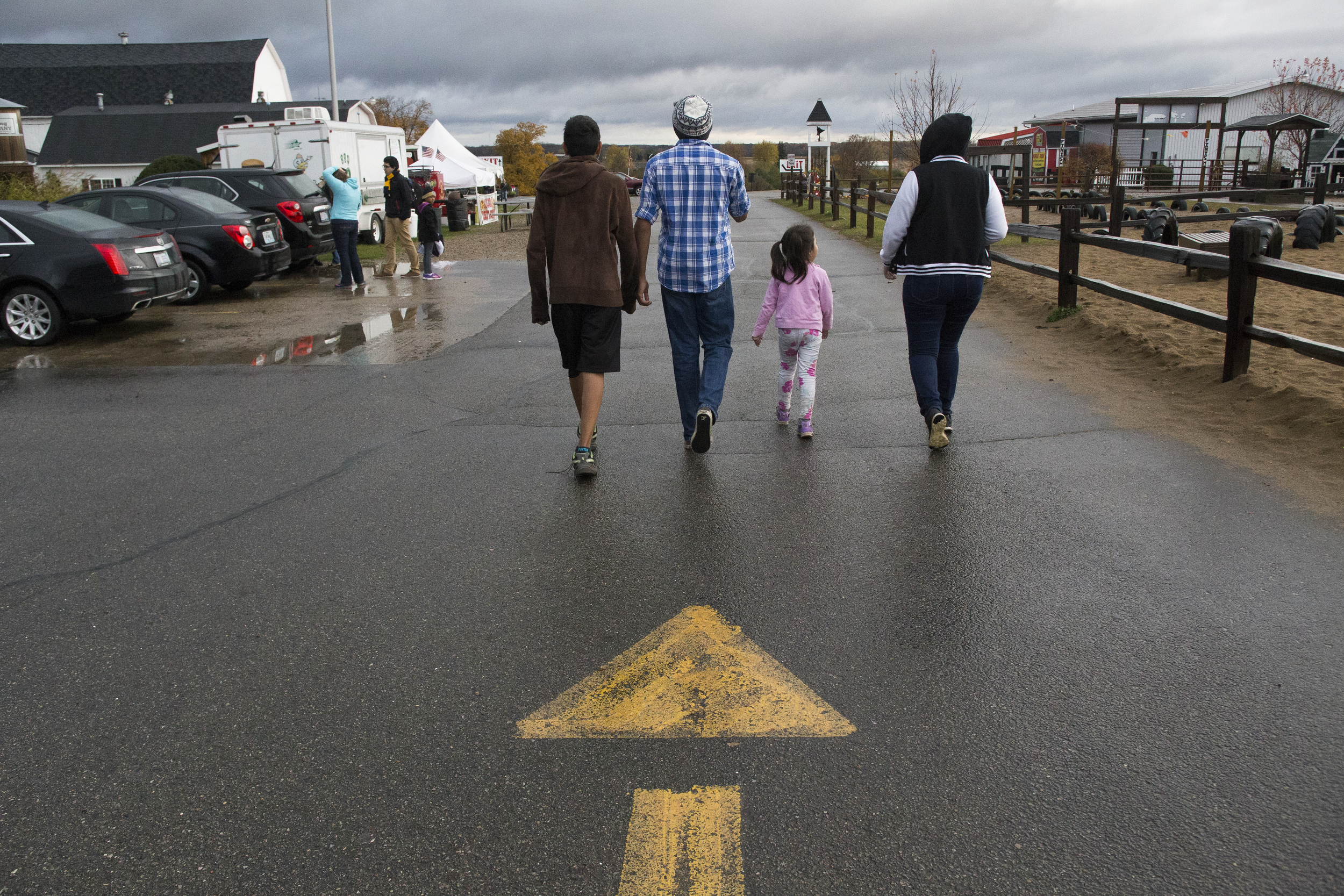 The Jurado siblings live and work at Uncle John's Cider Mill, alongside their parents.The three older siblings work nearly 40 hours a week, while attending school in Saint Johns.