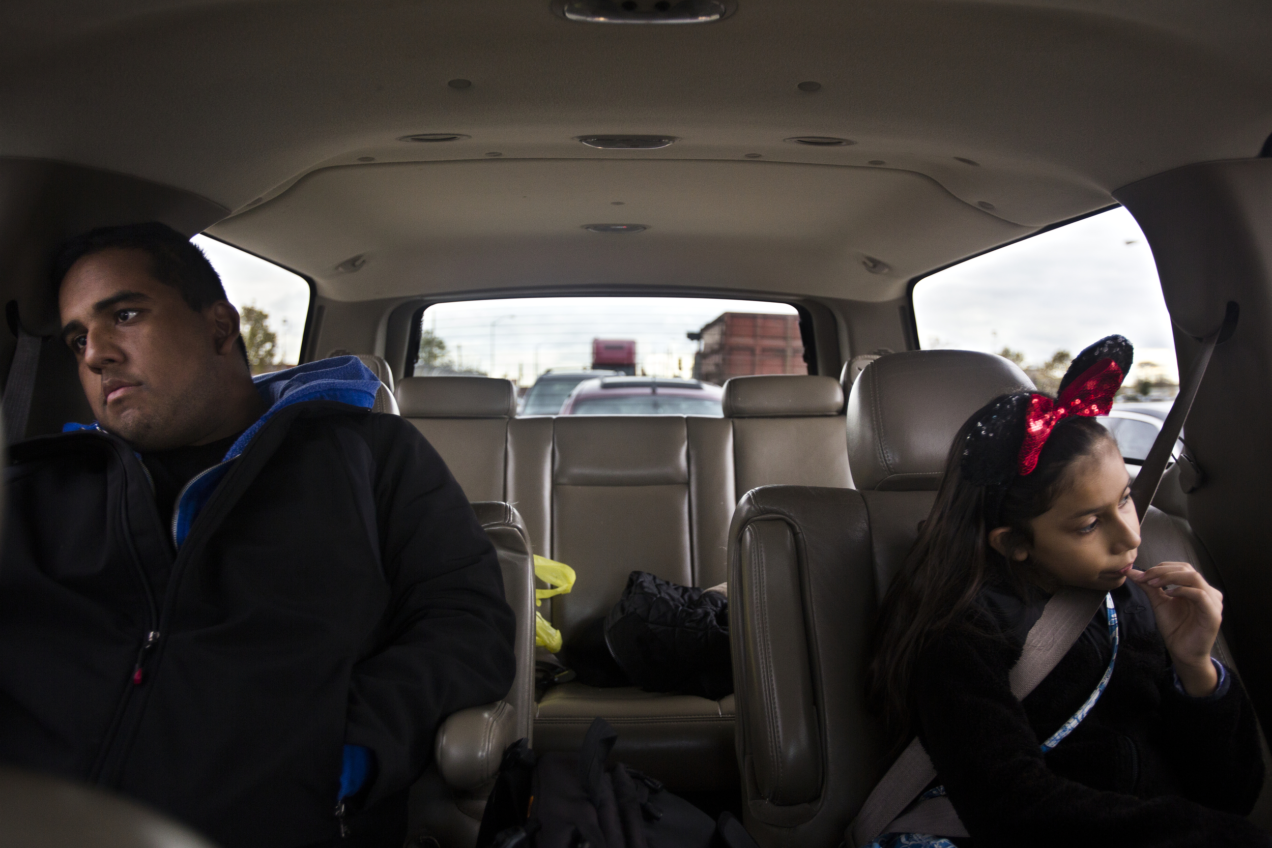 "The vehicle is silent as Edwin Silva thinks over the meeting he just left with his youngest sister, Elizabeth, 11, his mother, Aida Silva and his immigration lawyer's assistant at the main office in Dearborn.  ""I just want to be able to support my family and be there for them,"" said Silva as the topic of deportation was discussed.  It's a waiting game. He is in the process of applying for an I-589, withholding of removal, and won't know the outcome until it is either approved or denied by the judge, which can take anywhere from 1 to 5 years."