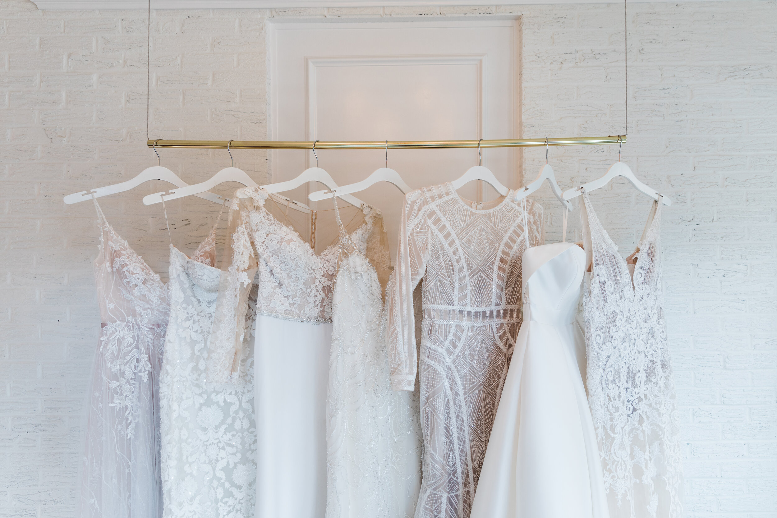 LOVE - Wedding gown shopping is a special occasion. Gather some of you nearest and dearest to celebrate the day with you! Then customize your experience by selecting a personalized playlist and tasty treats. Knowing that all the details are taken care of, the bride can truly be in the moment!