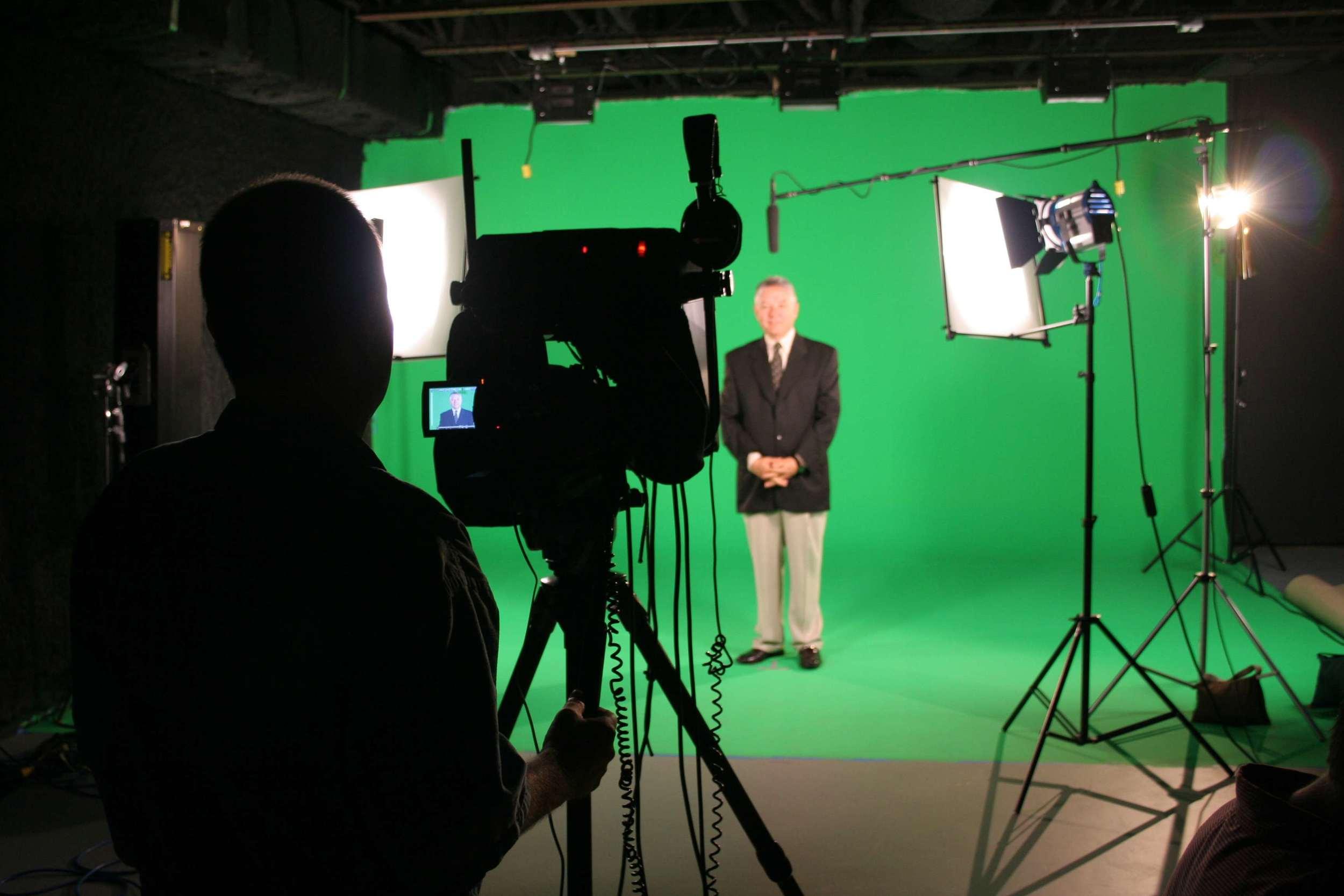 Scott from Whitney Media,Working with SunTrust on an internal video presentation.