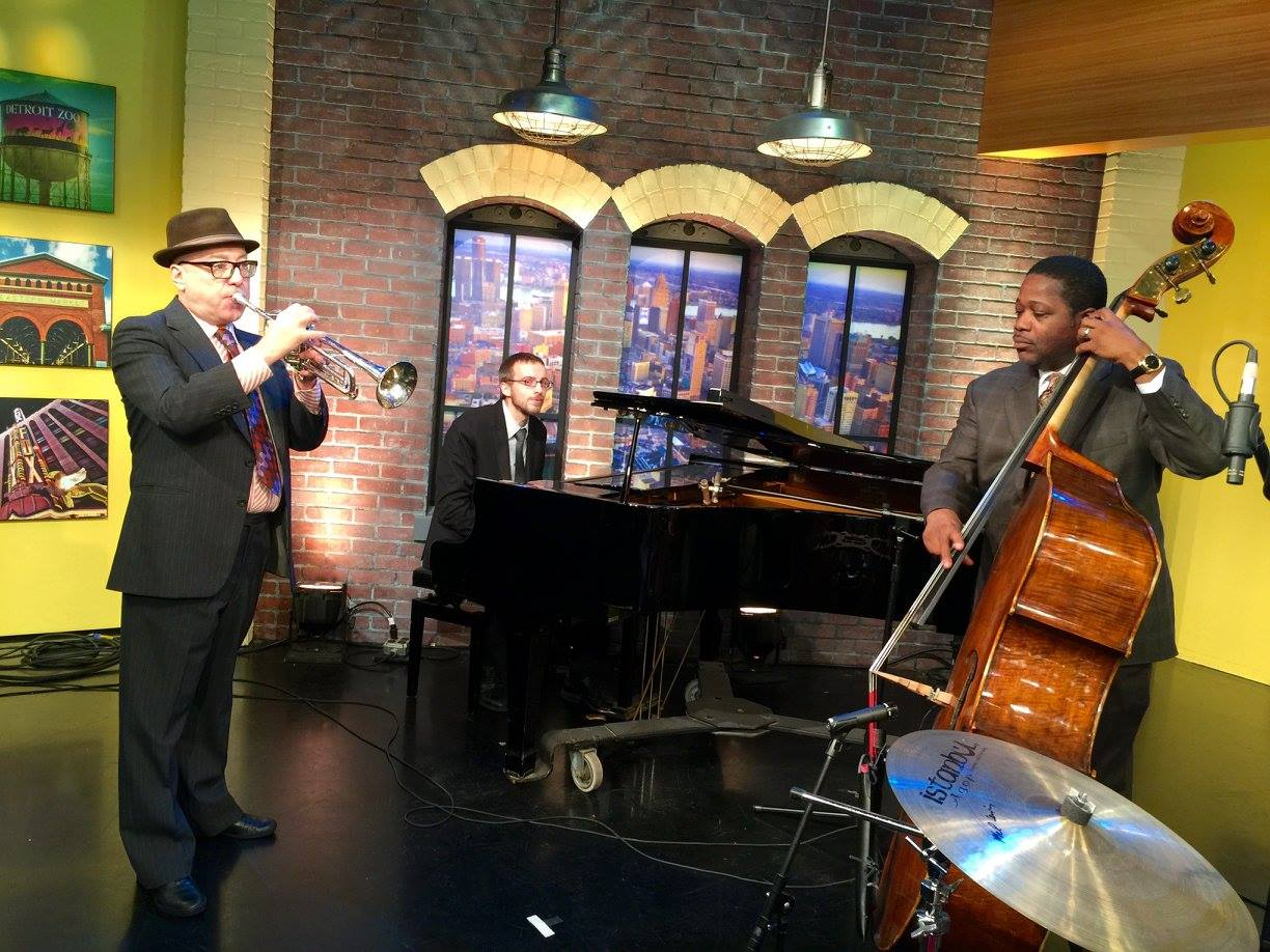 Fox 2 Detroit TV appearance with Rodney Whitaker, Brian Lynch, and Max Colley III.