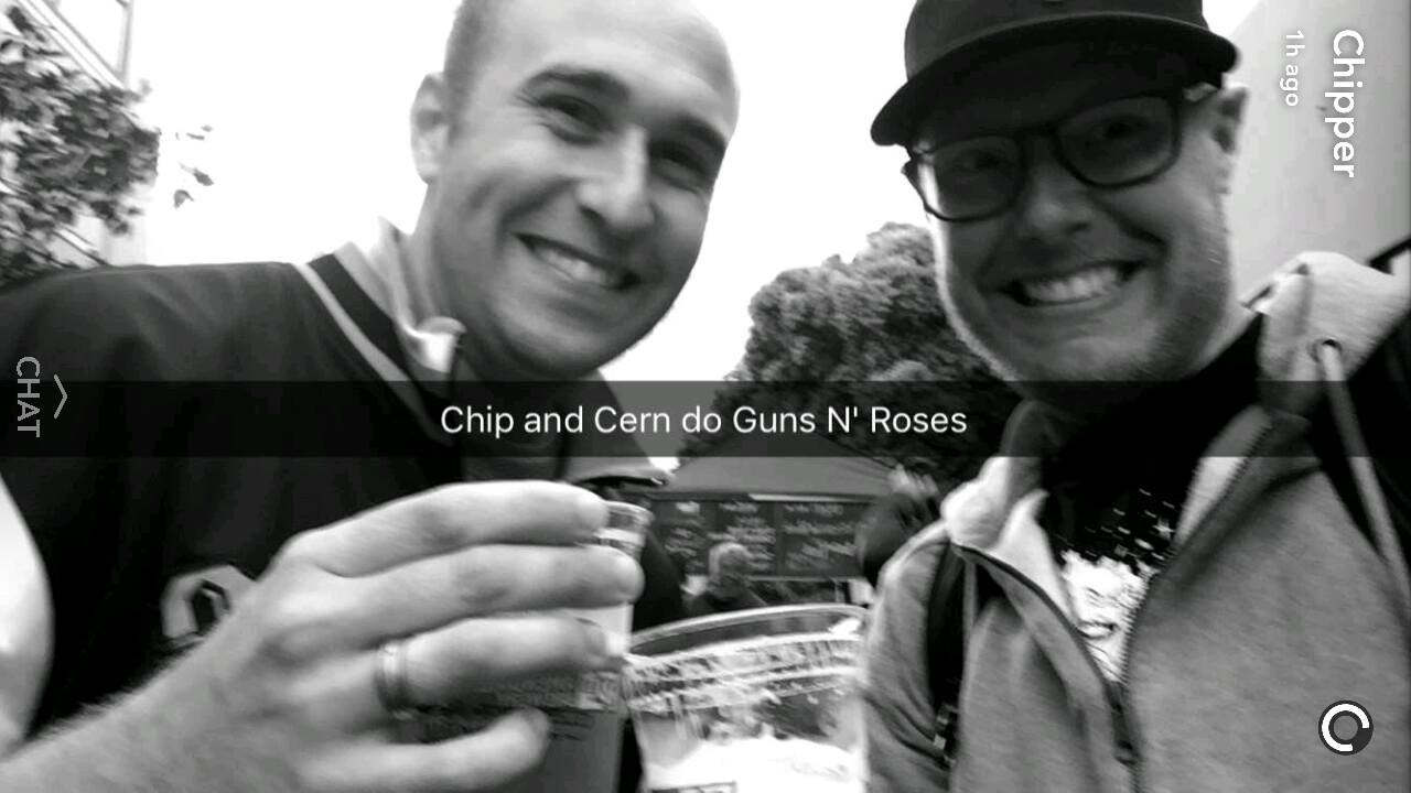 Chip and Cern at GNR