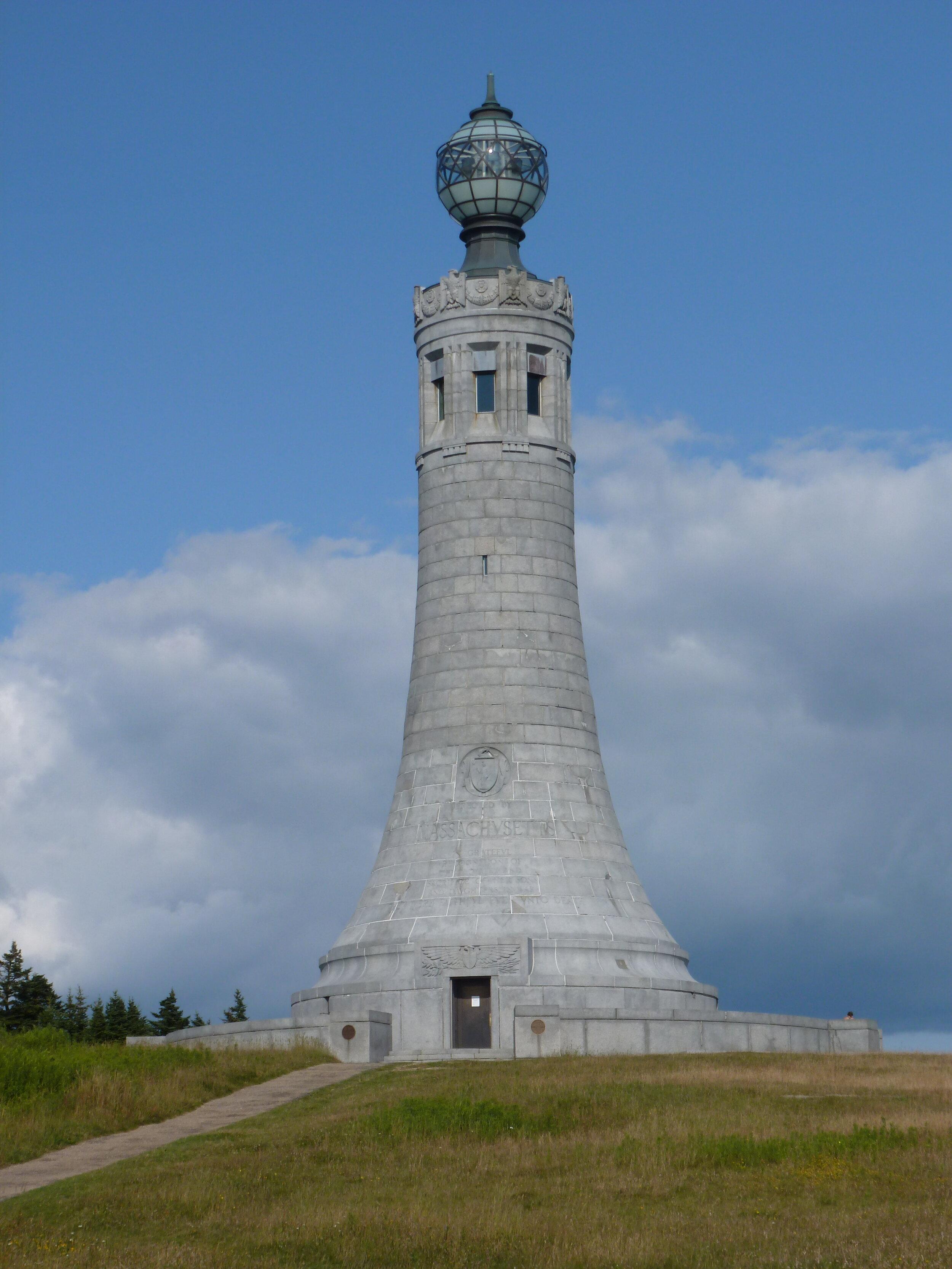The War Memorial on top of Mt. Greylock