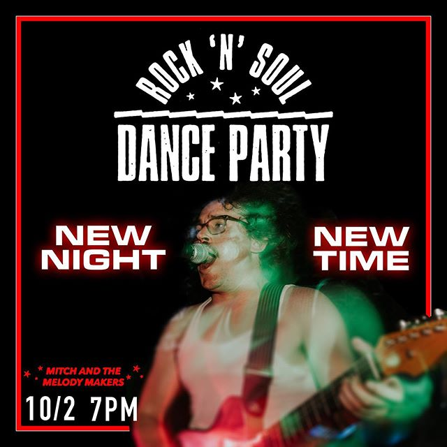 We're back, on our new night (first Wednesdays) and new time (7PM) with the #rocknsouldanceparty at @albertastreetpub! We've got new tunes! Same old faces! A fantastic mystery guitar!