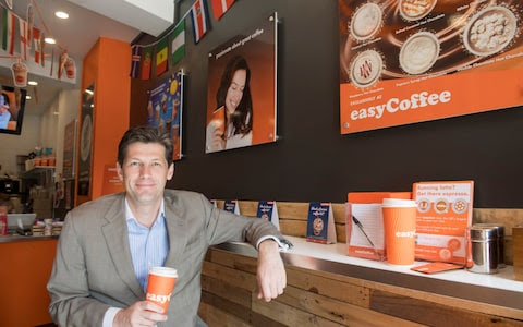 Nathan Lowry's easyCoffee offers drinks 20-25% cheaper than Caffe Nero and Starbucks