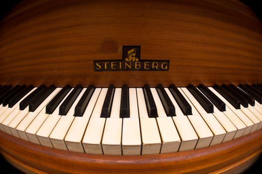 My late grandfather's grand piano