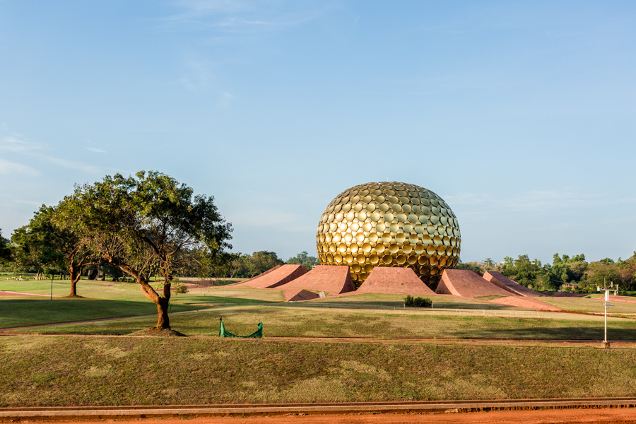 """The Matrimandir (sanskrit for """"Temple of the Mother"""") took 37 years to build."""