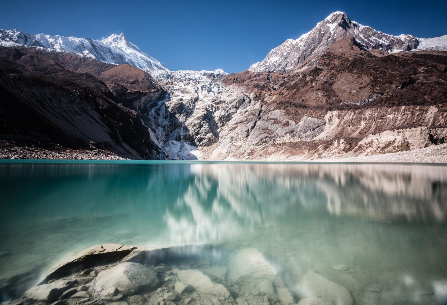 Birendra Lake (3450m), Manaslu Reserve.
