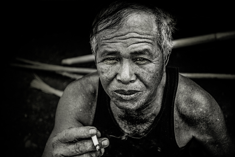 Ban Na Village, Laos, February, 2017.