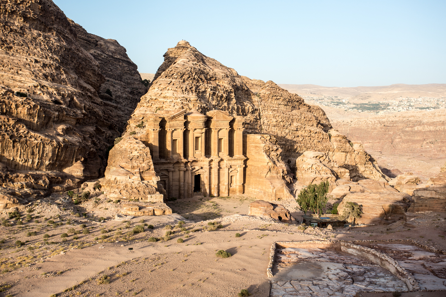 "El Deir or  ""The Monastery"", Petra's largest monument, dates back to the 1st century BC."