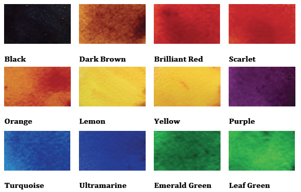 Brusho Colours
