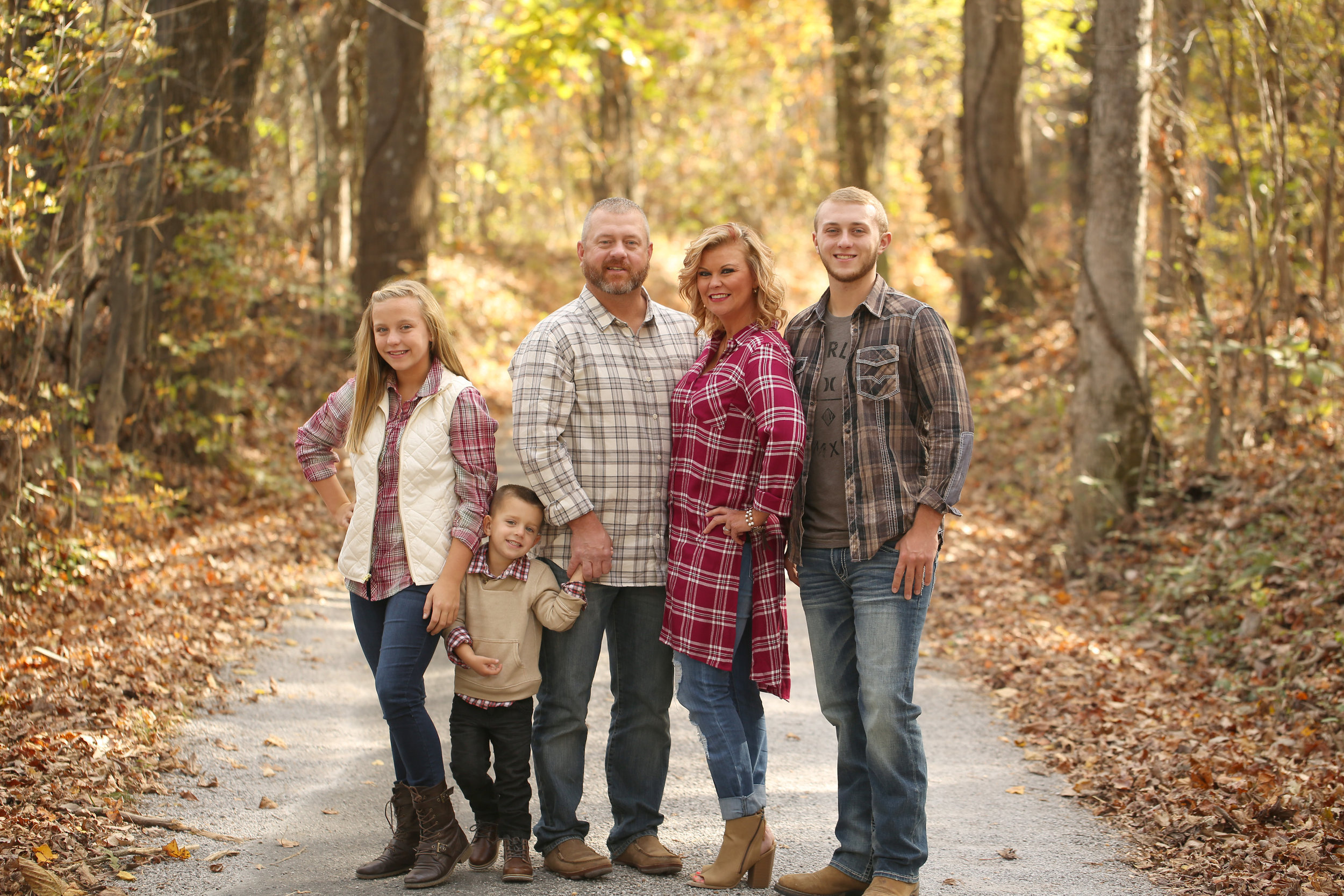 Outfits - Generally, we try to stick to one outfit for a family session! However, if you are like me, and can't pick a favorite, message me & we can talk!Keep in mind the location which we have selected to do your pictures!